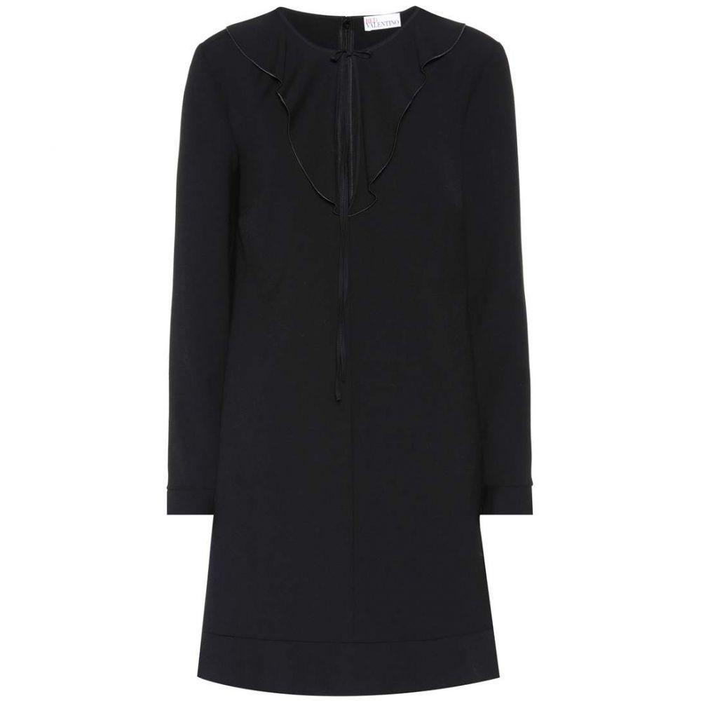 レッド ヴァレンティノ REDValentino レディース ワンピース ワンピース・ドレス【Long-sleeved minidress】BLACK