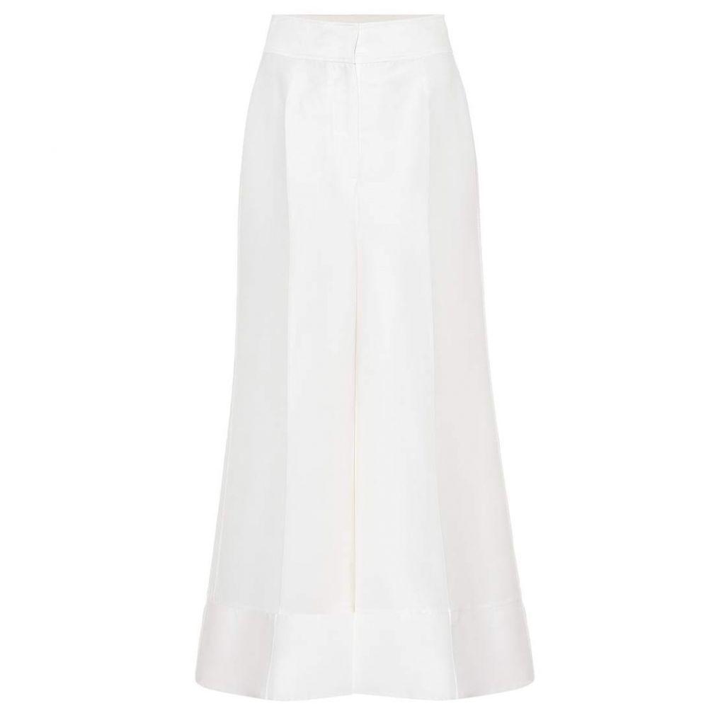 ロクサンダ Roksanda レディース ボトムス・パンツ 【Bridal wool-blend trousers】Ivory