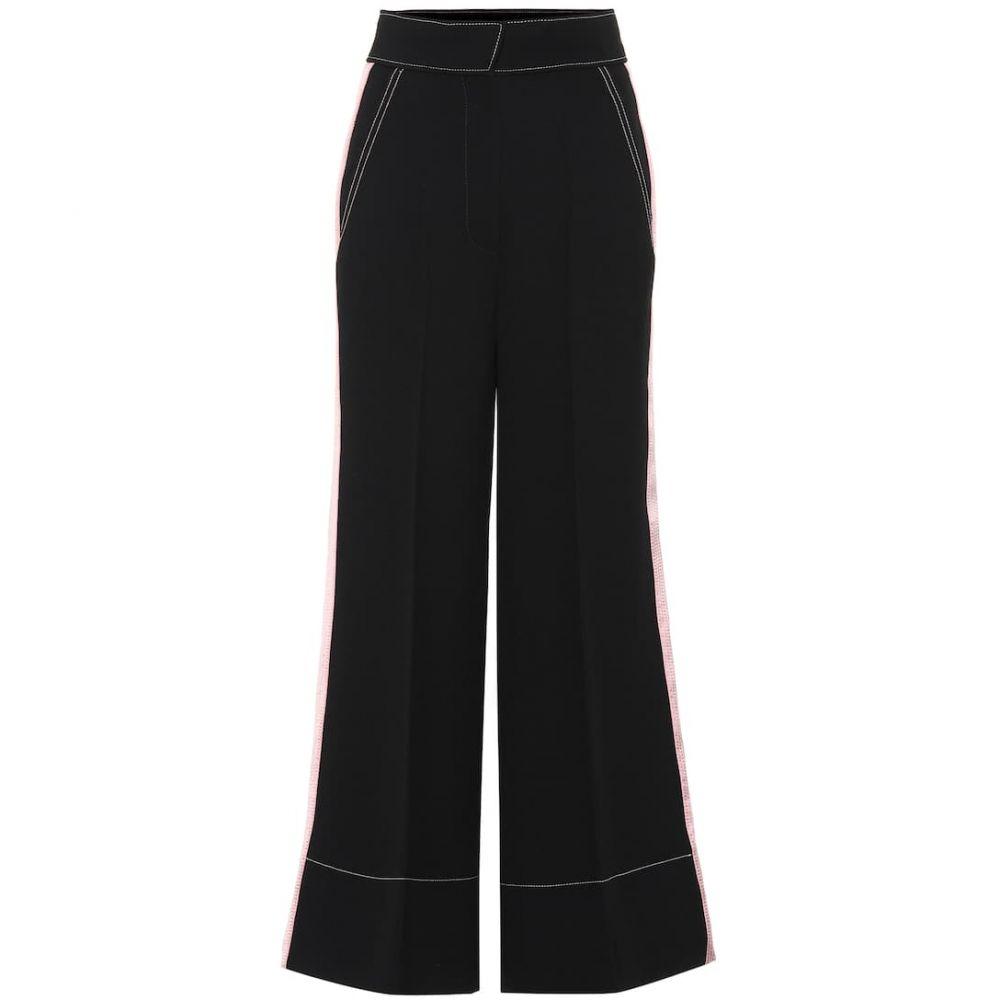 ロクサンダ Roksanda レディース ボトムス・パンツ 【Hasani high-rise wide-leg cady pants】Black