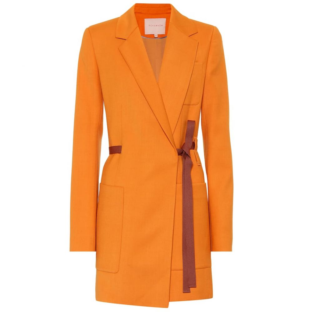 ロクサンダ Roksanda レディース コート アウター【Twill coat】Citrene