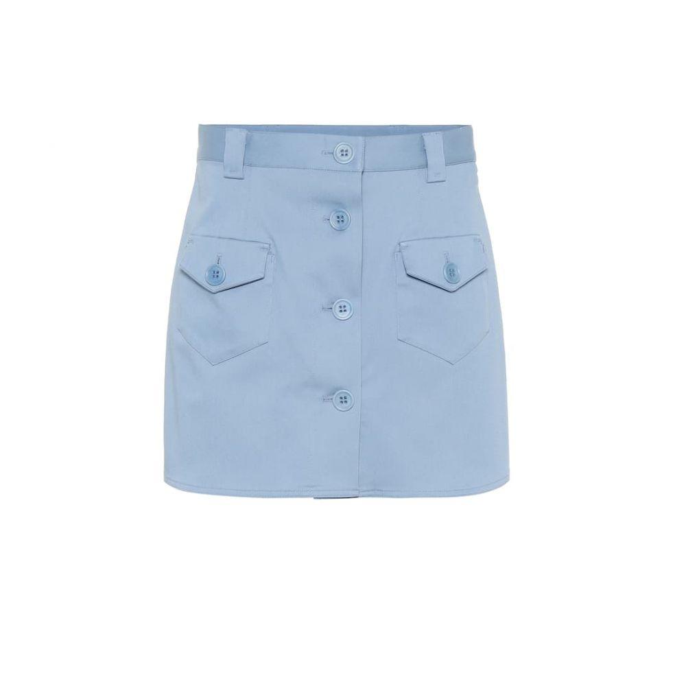 レッド ヴァレンティノ REDValentino レディース ショートパンツ ボトムス・パンツ【Stretch cotton shorts】light blue
