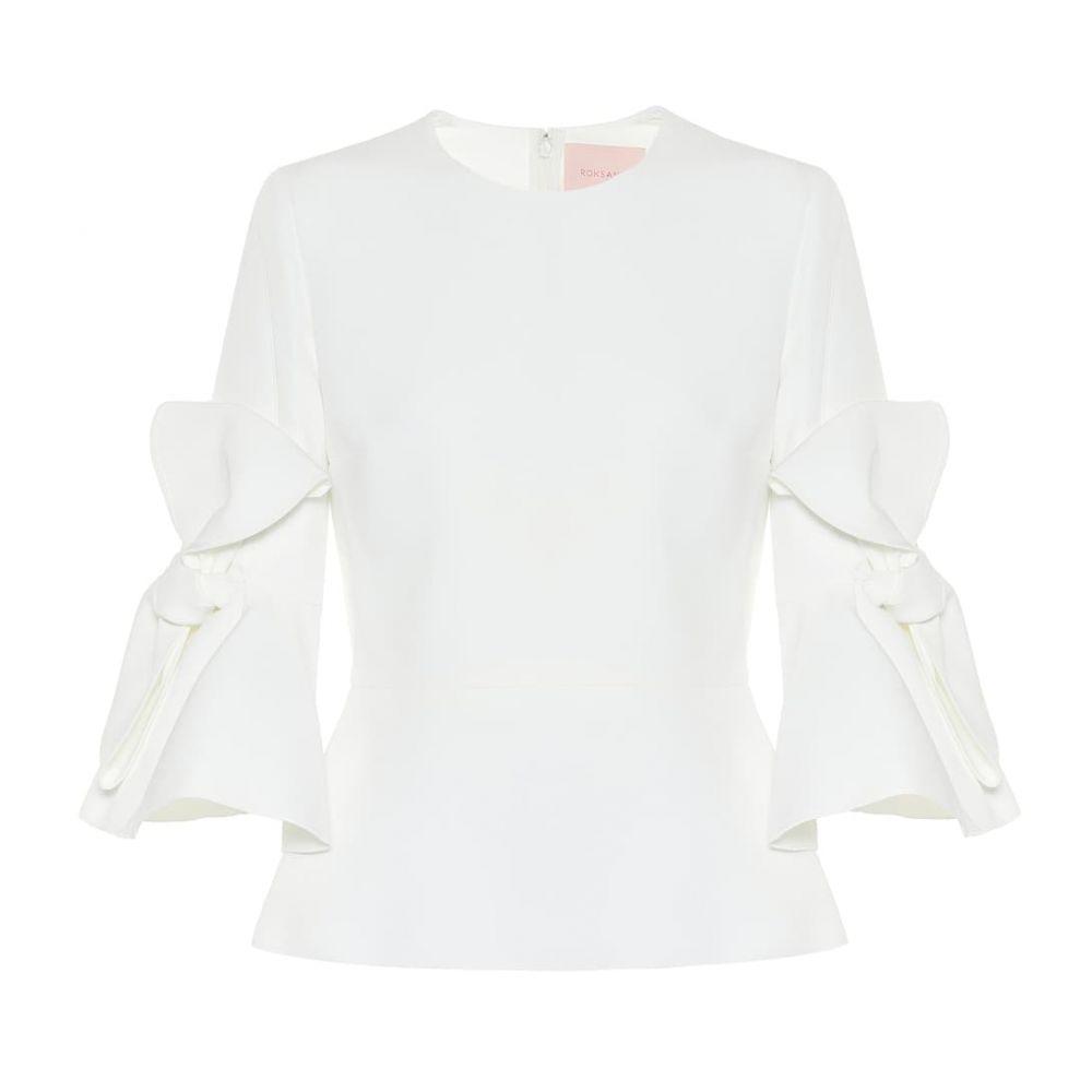 ロクサンダ Roksanda レディース ブラウス・シャツ トップス【Kemi cady bridal blouse】Ivory