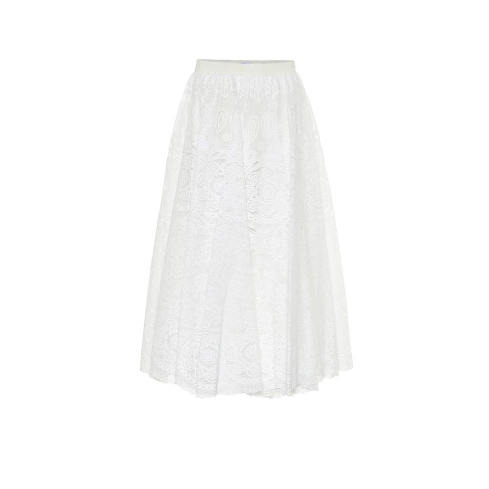 レッド ヴァレンティノ REDValentino レディース ロング・マキシ丈スカート スカート【Floral lace maxi skirt】Latte