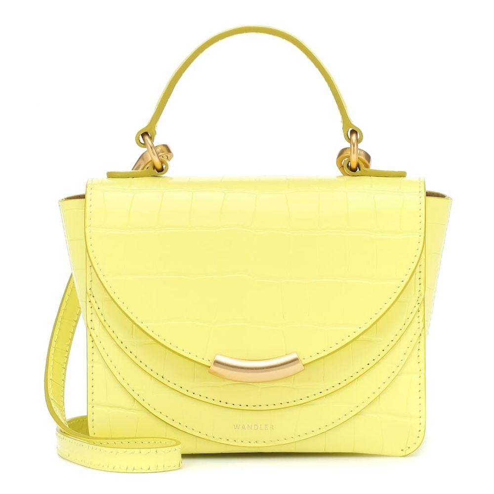 ワンダラー Wandler レディース ショルダーバッグ バッグ【Luna Arch Mini leather shoulder bag】Daisy