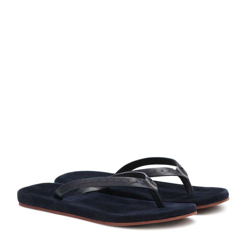 ロロピアーナ Loro Piana レディース サンダル・ミュール シューズ・靴【Suede thong sandals】