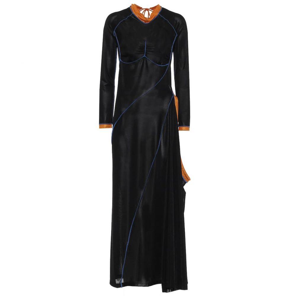 ミドル丈 レディース ワンピース・ドレス【Mesh Y/PROJECT ワンピース ワイプロジェクト dress】Black/Orange/Blue midi