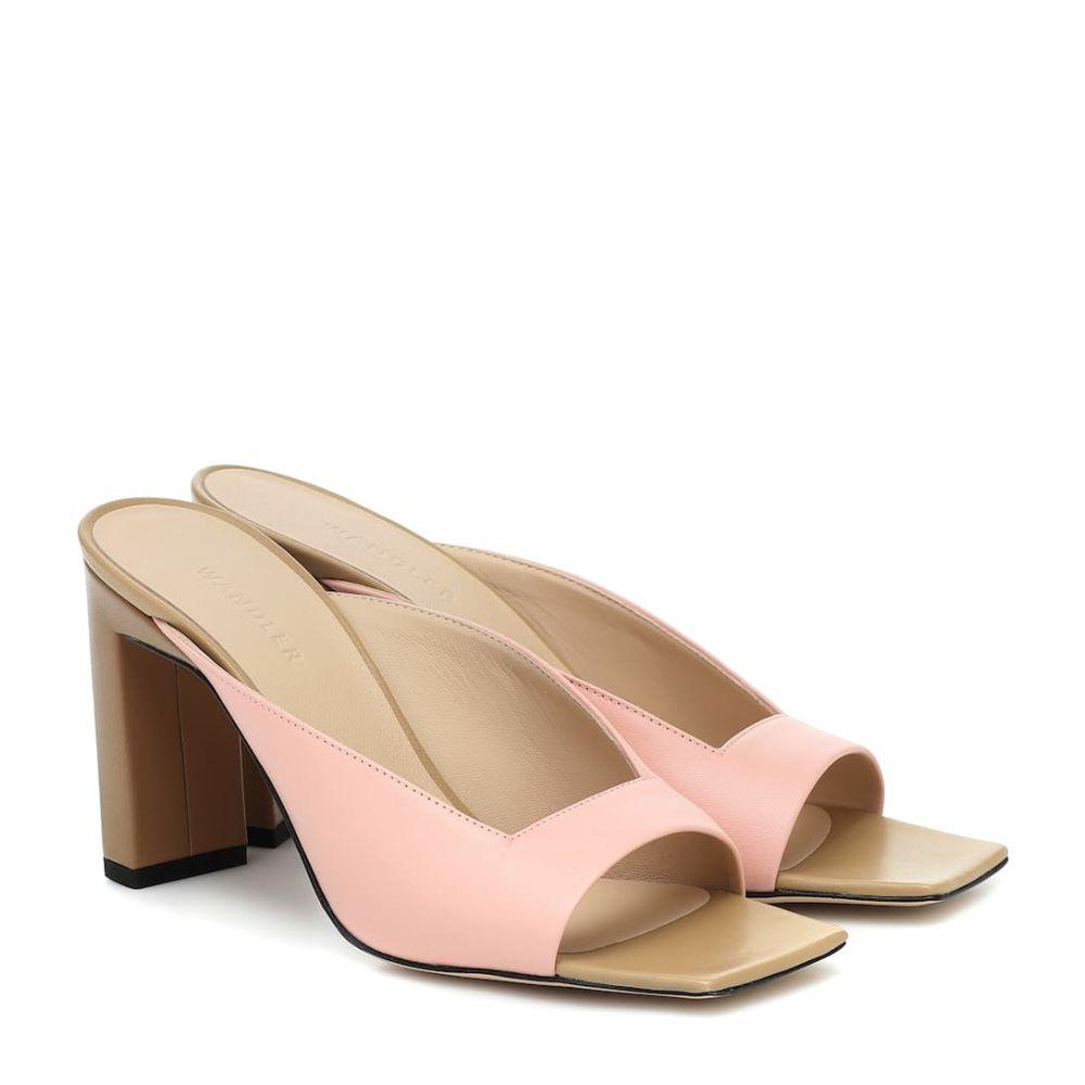 ワンダラー Wandler レディース サンダル・ミュール シューズ・靴【Isa leather sandals】Rose Quartz Mix