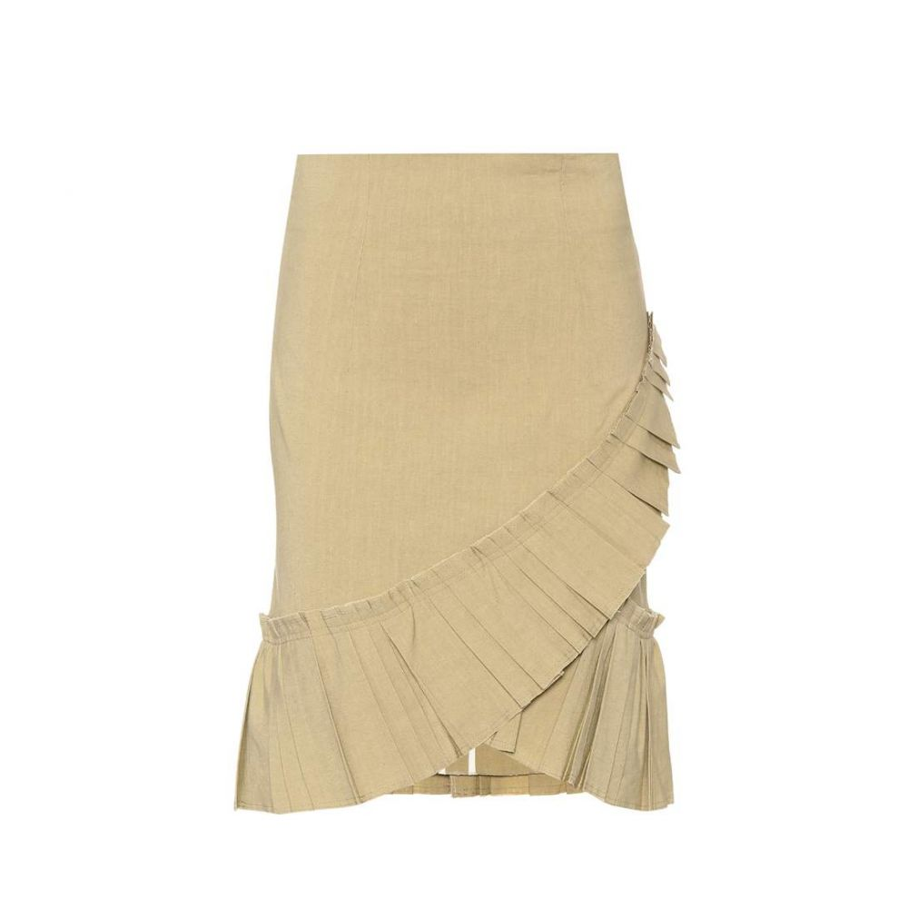 イザベル マラン Isabel Marant レディース スカート 【Rebel linen-blend skirt】Ficelle