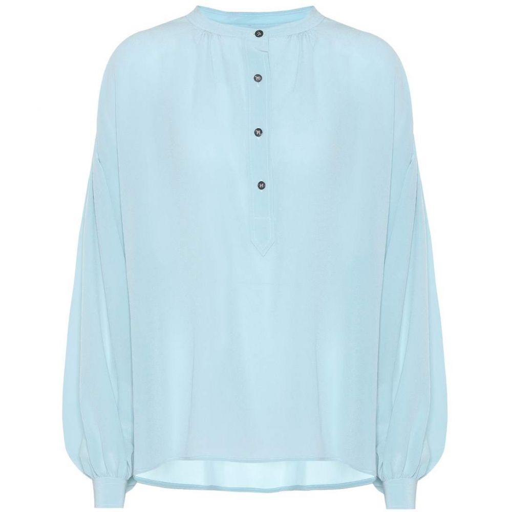 イザベル マラン Isabel Marant レディース ブラウス・シャツ トップス【Kilda silk blouse】Light Blue