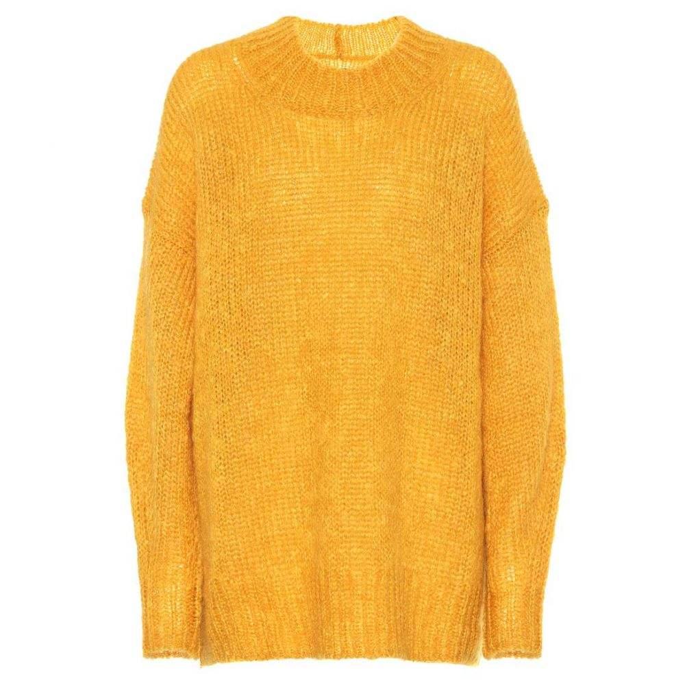 イザベル マラン Isabel Marant レディース ニット・セーター トップス【Idol mohair-blend sweater】Yellow