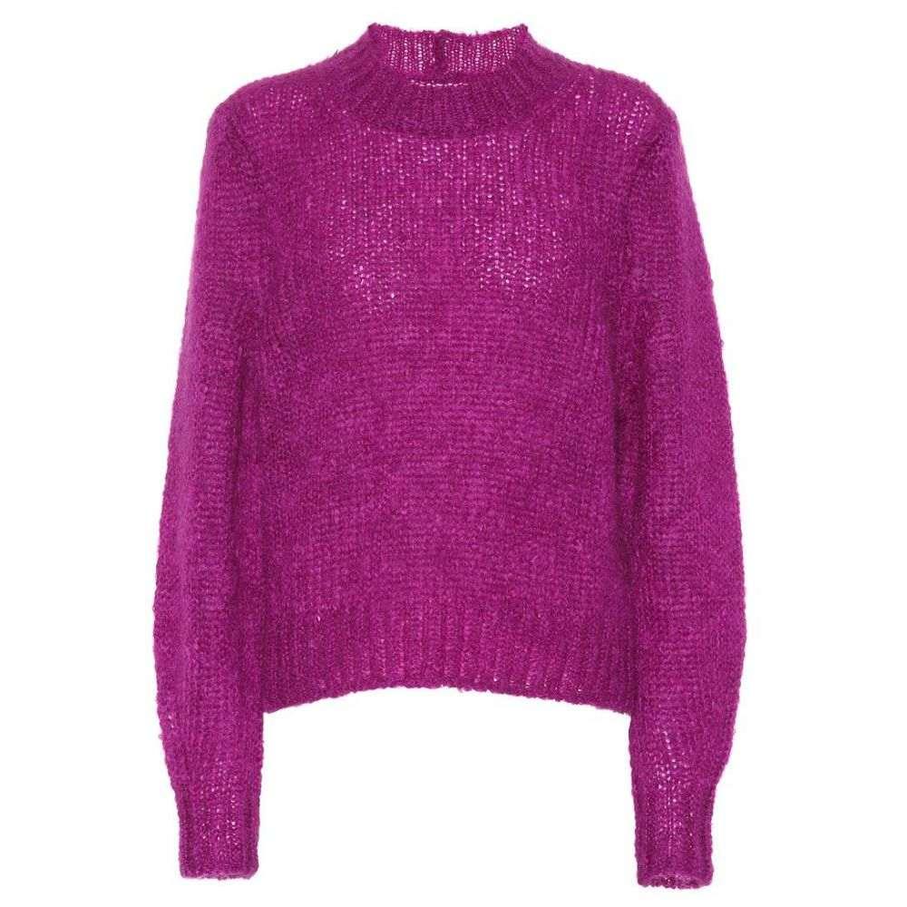 イザベル マラン Isabel Marant レディース ニット・セーター トップス【Ivah mohair-blend sweater】Purple