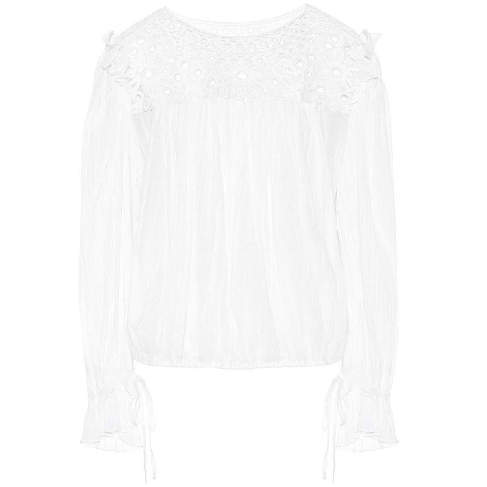 イザベル マラン Isabel Marant, Etoile レディース ブラウス・シャツ トップス【Rock embroidered cotton blouse】