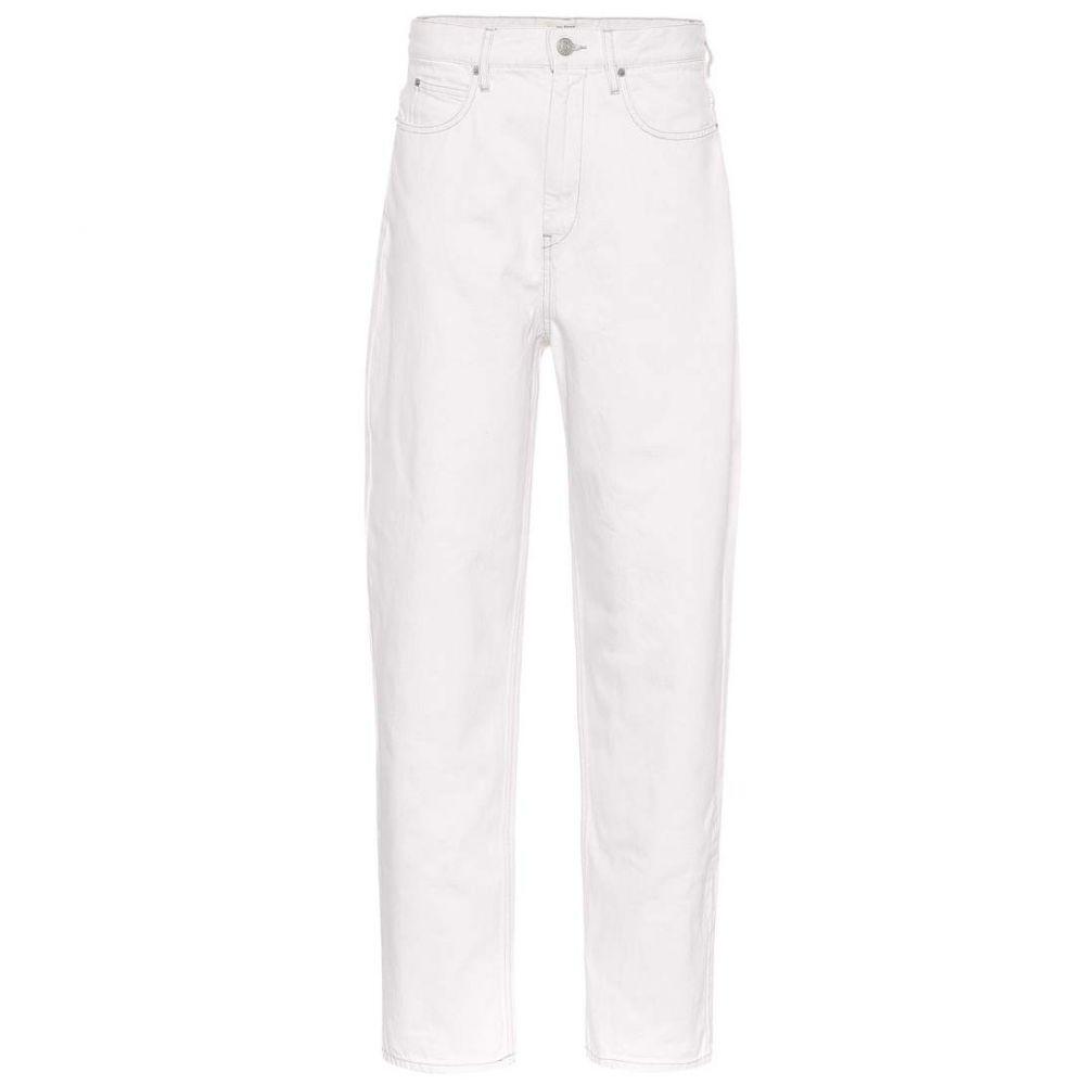 イザベル マラン Isabel Marant, Etoile レディース ジーンズ・デニム ボトムス・パンツ【Corby high-waisted jeans】white