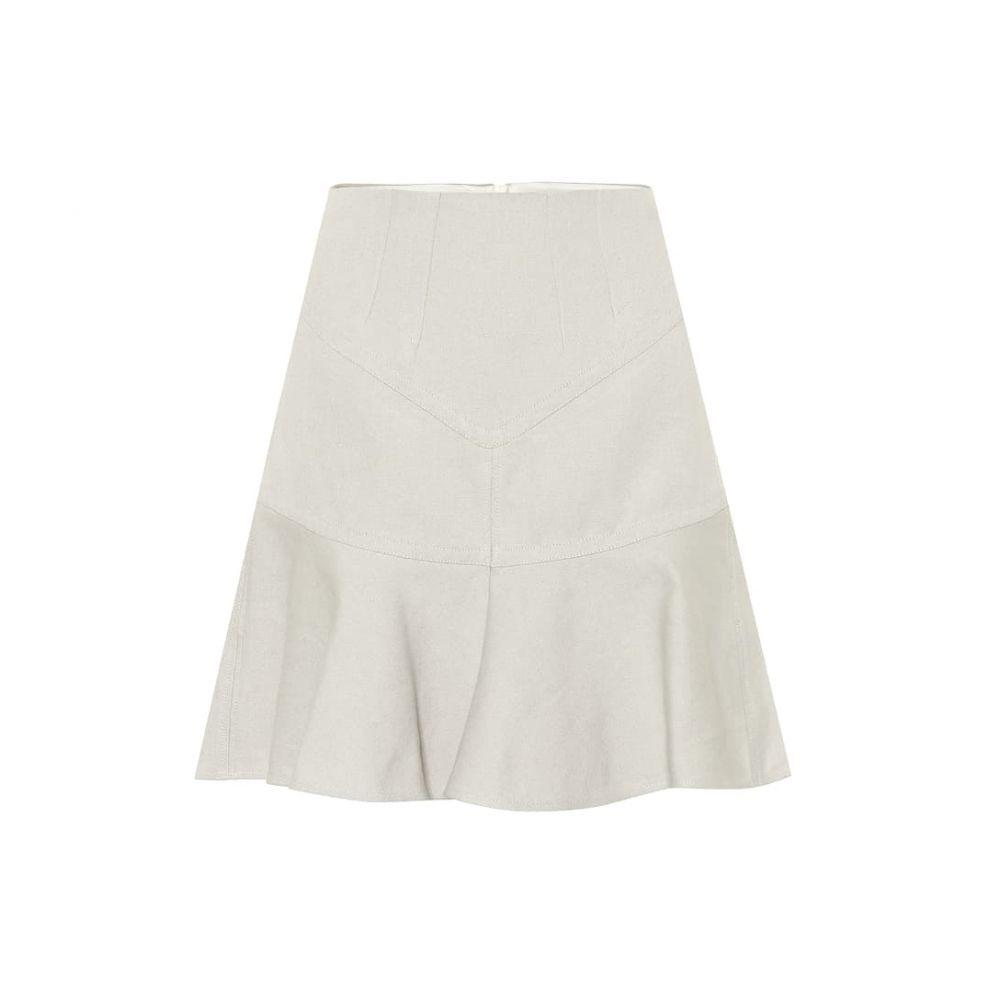 イザベル マラン Isabel Marant レディース スカート 【Kelly cotton and linen skirt】Chalk