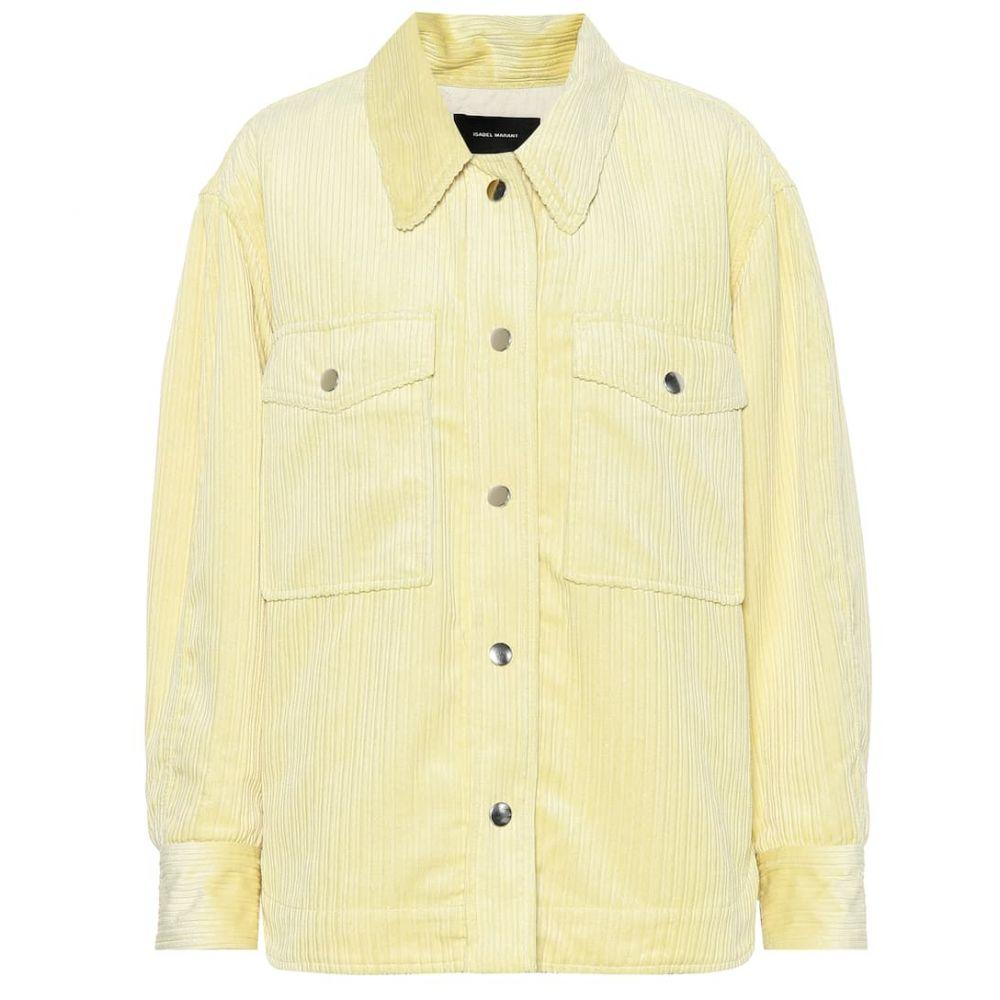 イザベル マラン Isabel Marant レディース ジャケット アウター【Marvey corduroy jacket】Light Yellow