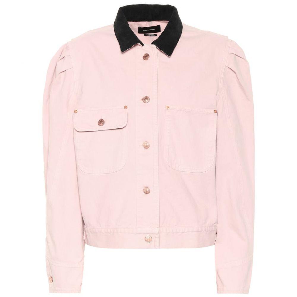 イザベル マラン Isabel Marant レディース ジャケット Gジャン アウター【Iolana denim jacket】Light Pink