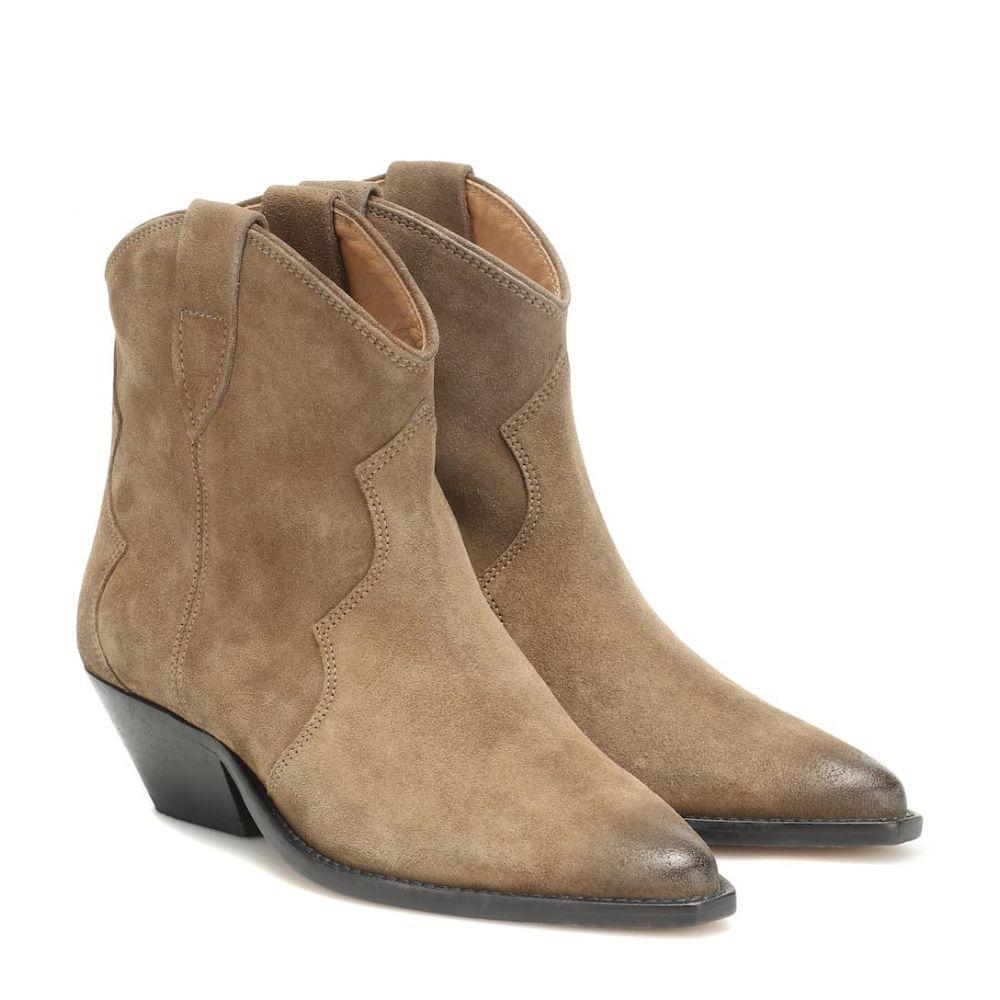 イザベル マラン Isabel Marant レディース ブーツ ショートブーツ シューズ・靴【Dewina suede ankle boots】Taupe