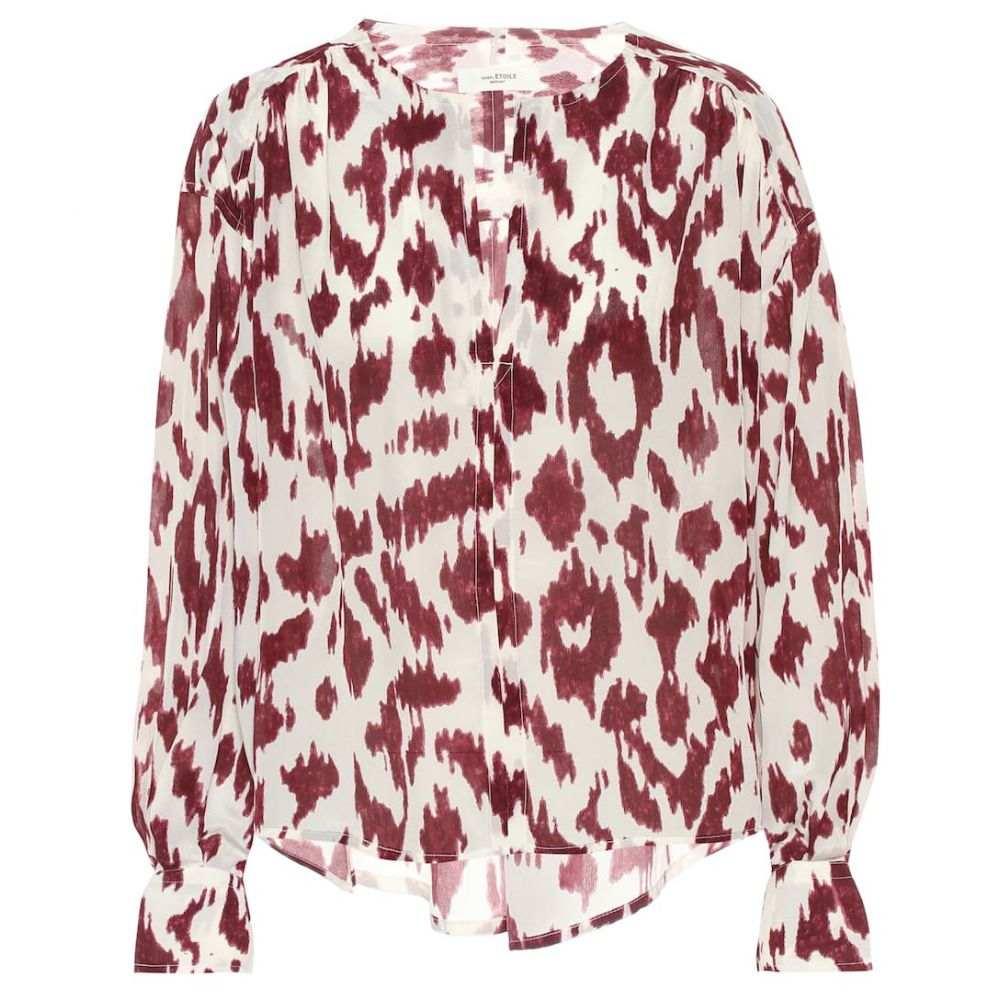イザベル マラン Isabel Marant, Etoile レディース ブラウス・シャツ トップス【Yacah printed silk blouse】Ecru