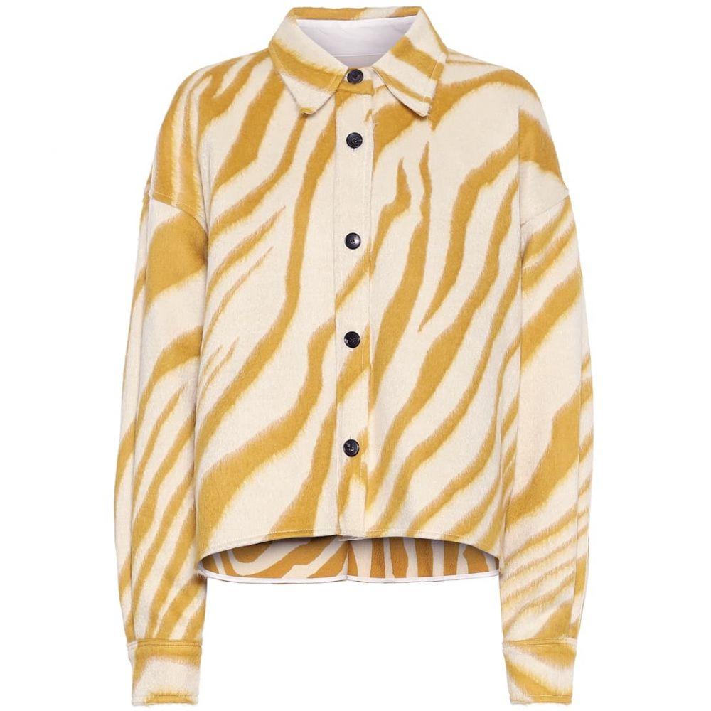 イザベル マラン Isabel Marant レディース ブラウス・シャツ トップス【Hanao virgin wool shirt】Yellow