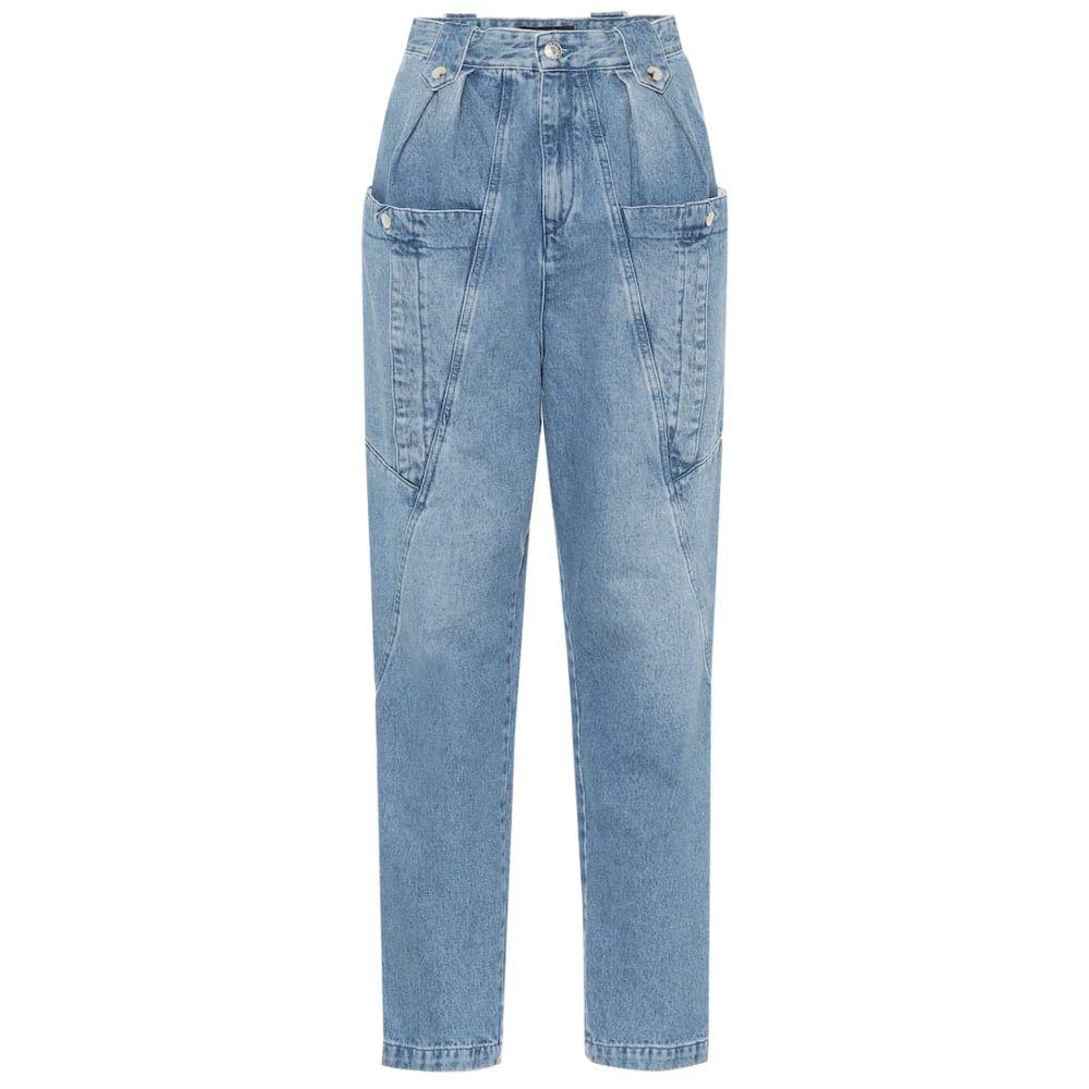 イザベル マラン Isabel Marant レディース ジーンズ・デニム ボトムス・パンツ【Kerris high-rise jeans】Light Blue