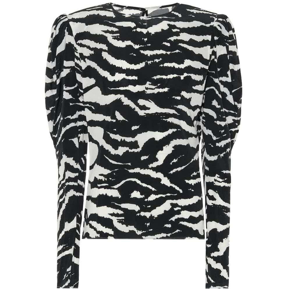 イザベル マラン Isabel Marant レディース ブラウス・シャツ トップス【Favallia stretch-silk blouse】Black
