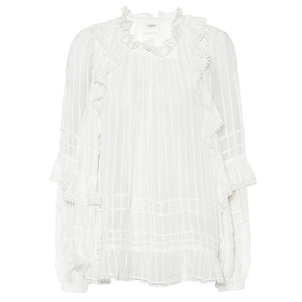 イザベル マラン Isabel Marant, Etoile レディース ブラウス・シャツ トップス【Jayden ruffled blouse】White
