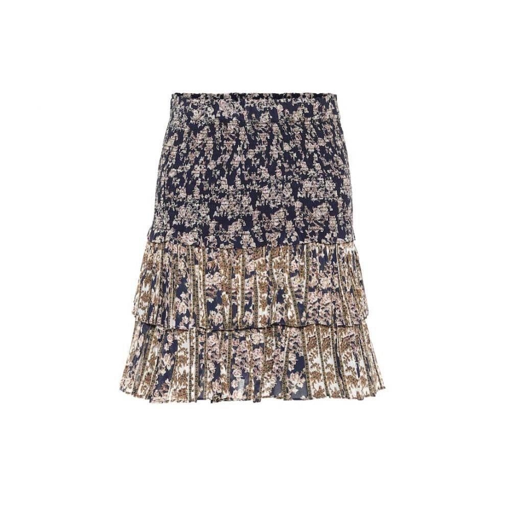 イザベル マラン Isabel Marant, Etoile レディース ミニスカート スカート【Naomi floral cotton miniskirt】Midnightecru