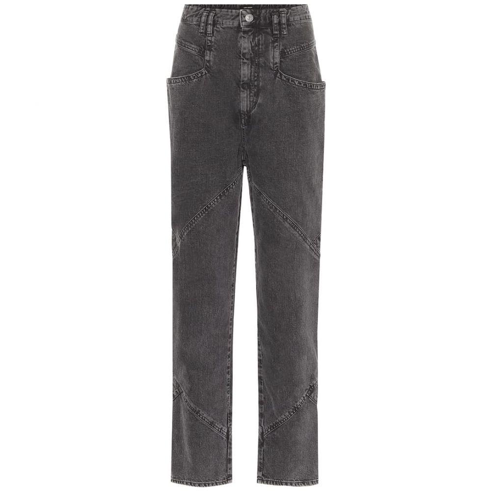 イザベル マラン Isabel Marant レディース ジーンズ・デニム ボトムス・パンツ【Eloisa high-rise straight jeans】Faded Night