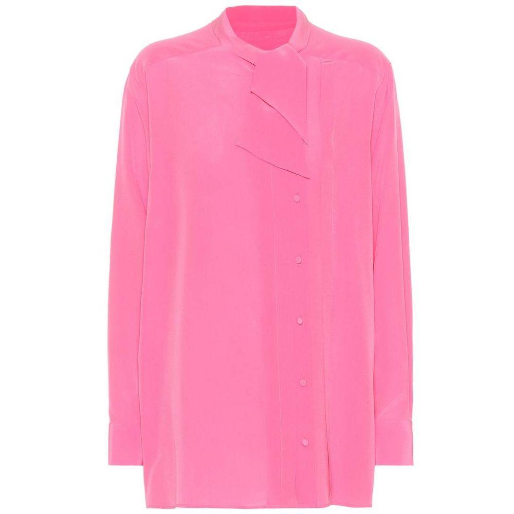 ヴァレンティノ Valentino レディース トップス 【Silk top】Pink