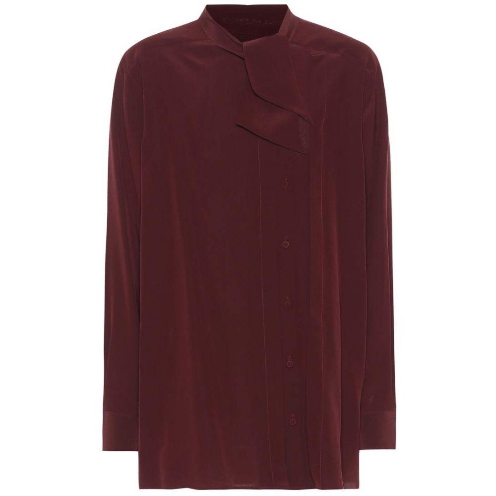 ヴァレンティノ Valentino レディース ブラウス・シャツ トップス【Silk blouse】Bordeaux