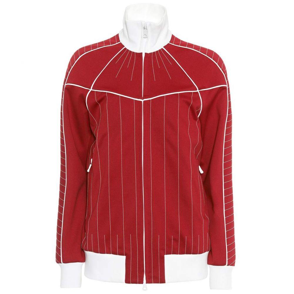 ヴァレンティノ Valentino レディース ジャケット アウター【Techno jersey jacket】Rosso Scurro