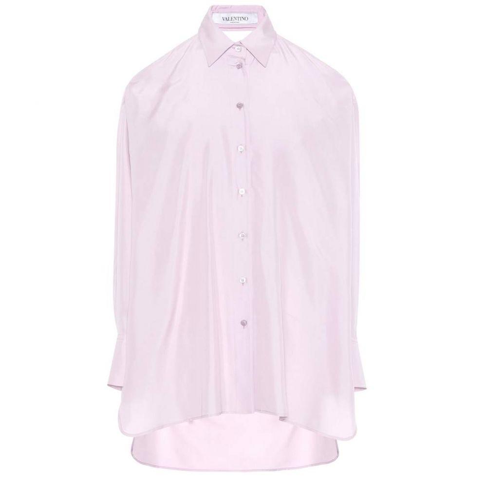 ヴァレンティノ Valentino レディース ブラウス・シャツ トップス【Silk blouse】Lilac