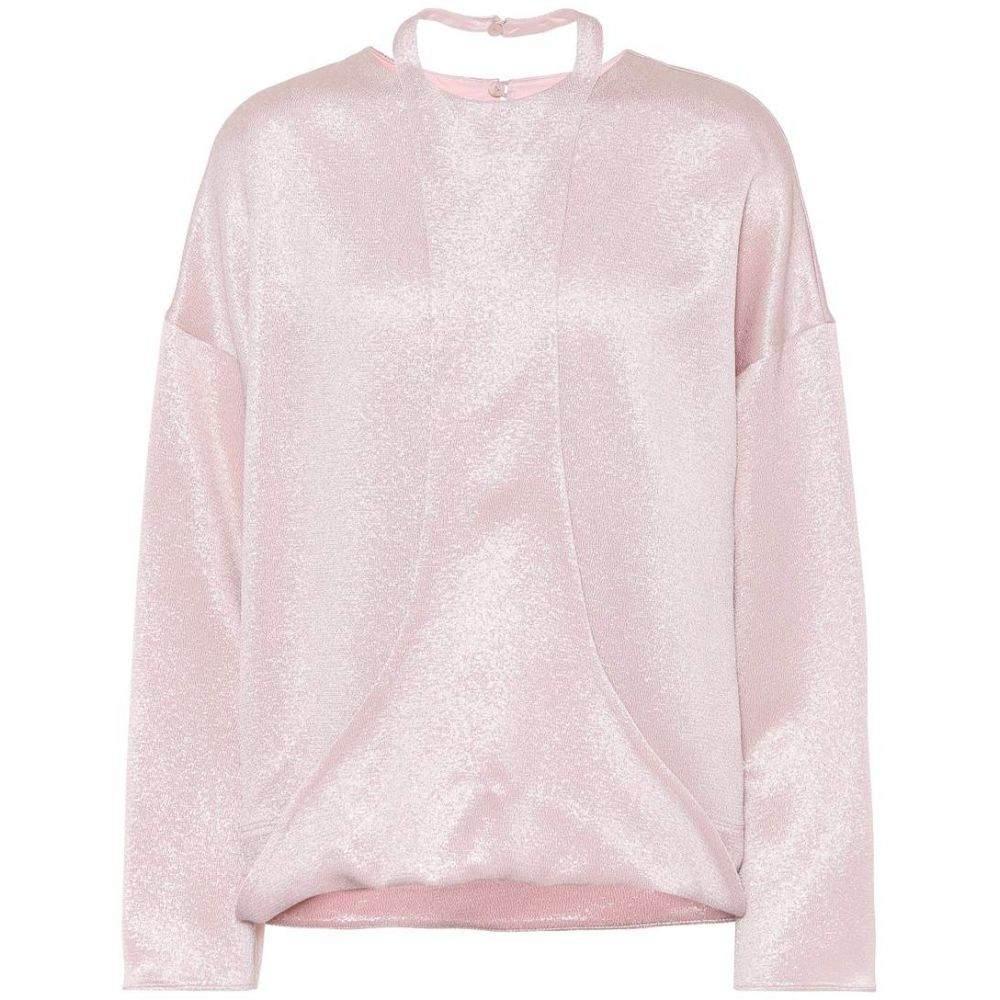 ヴァレンティノ Valentino レディース ブラウス・シャツ トップス【Hammered lame blouse】Rose