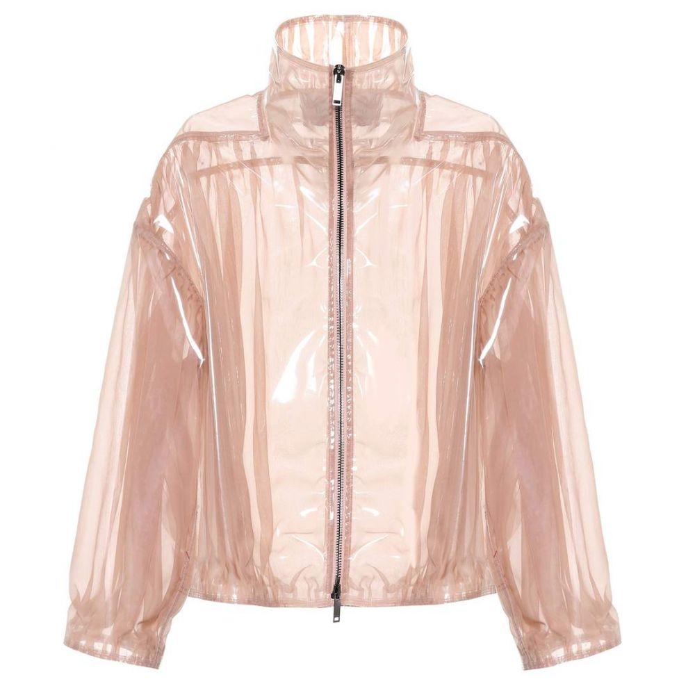 ヴァレンティノ Valentino レディース ブルゾン ミリタリージャケット アウター【Coated silk bomber jacket】Blush