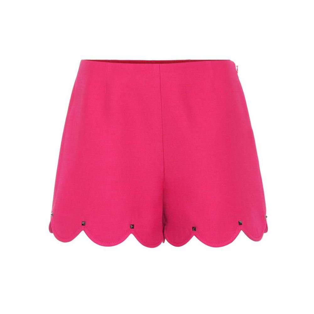 ヴァレンティノ Valentino レディース ショートパンツ ボトムス・パンツ【Silk and wool shorts】Disco Pink