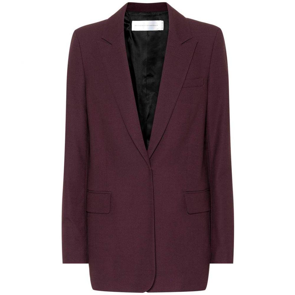 ヴィクトリア ベッカム Victoria Victoria Beckham レディース スーツ・ジャケット アウター【Wool-blend blazer】nightshade