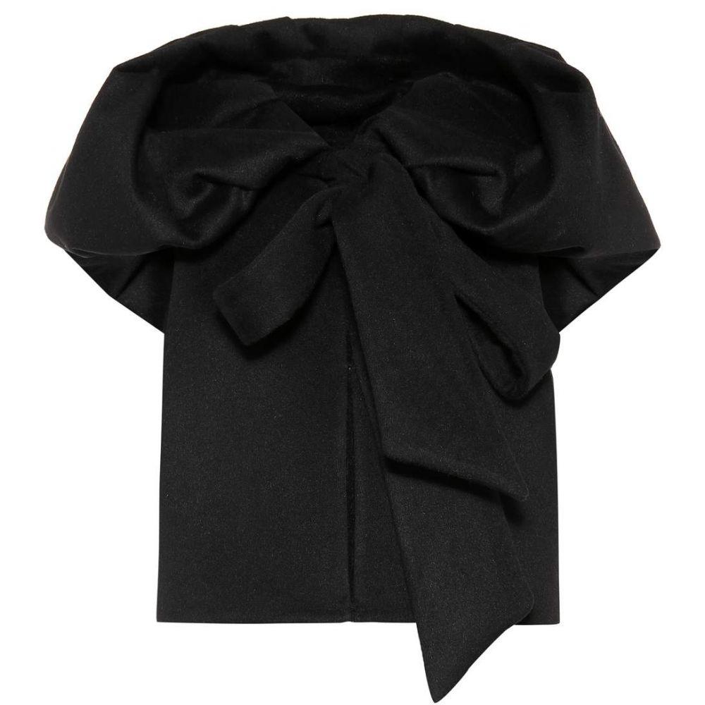 ヴァレンティノ Valentino レディース ベスト・ジレ トップス【Hooded wool-blend vest】