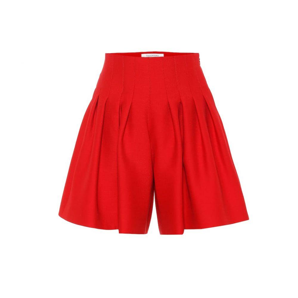 ヴァレンティノ Valentino レディース ショートパンツ ボトムス・パンツ【Wool and silk shorts】