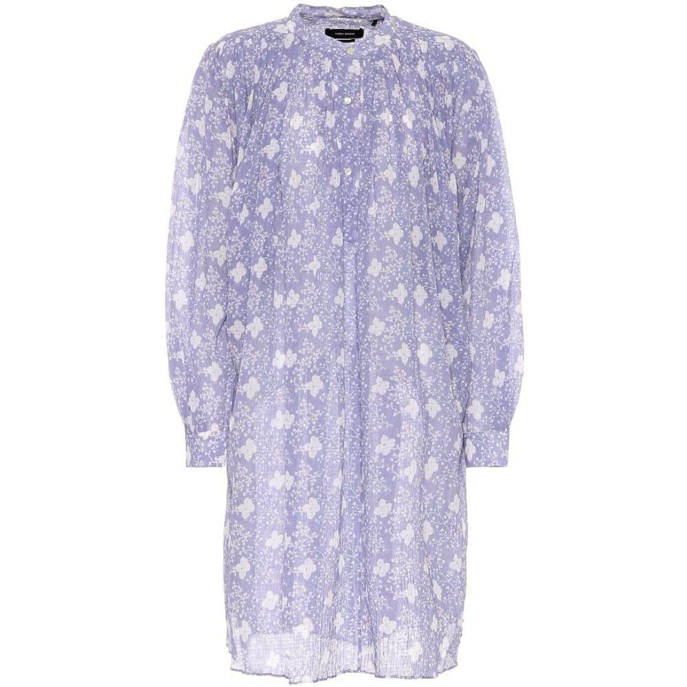 <title>イザベル マラン レディース ワンピース 新品 ドレス サイズ交換無料 Isabel Marant シャツワンピース Erika cotton and silk shirt dress Lavender</title>