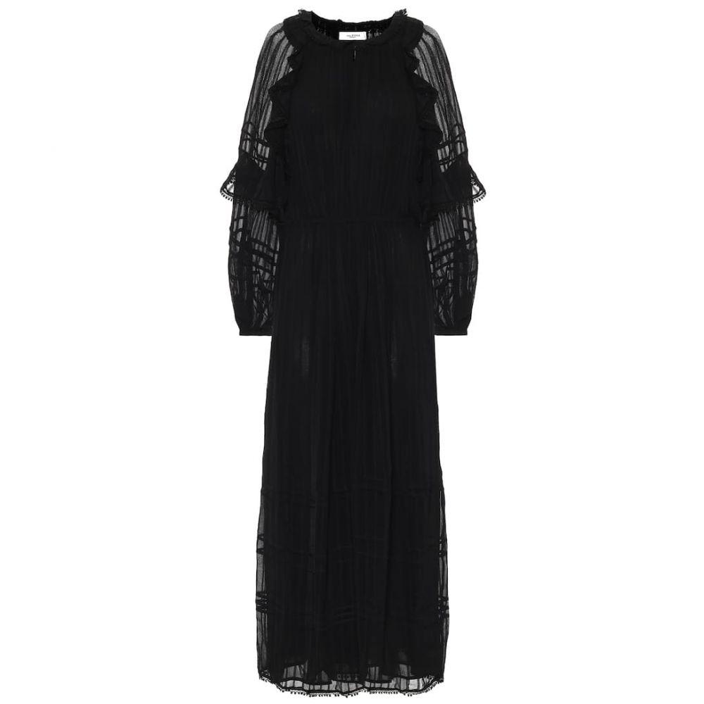 イザベル マラン Isabel Marant, Etoile レディース ワンピース マキシ丈 ワンピース・ドレス【Justine maxi dress】Black