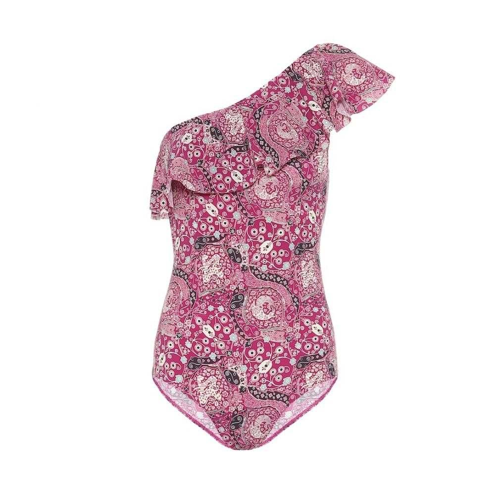イザベル マラン Isabel Marant, Etoile レディース ワンピース 水着・ビーチウェア【Sicilya printed swimsuit】Fuchsia