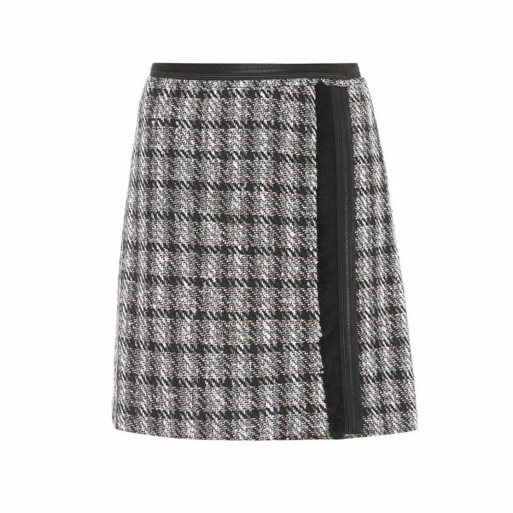 エトロ Etro レディース スカート 【Cotton-blend skirt】Black/White