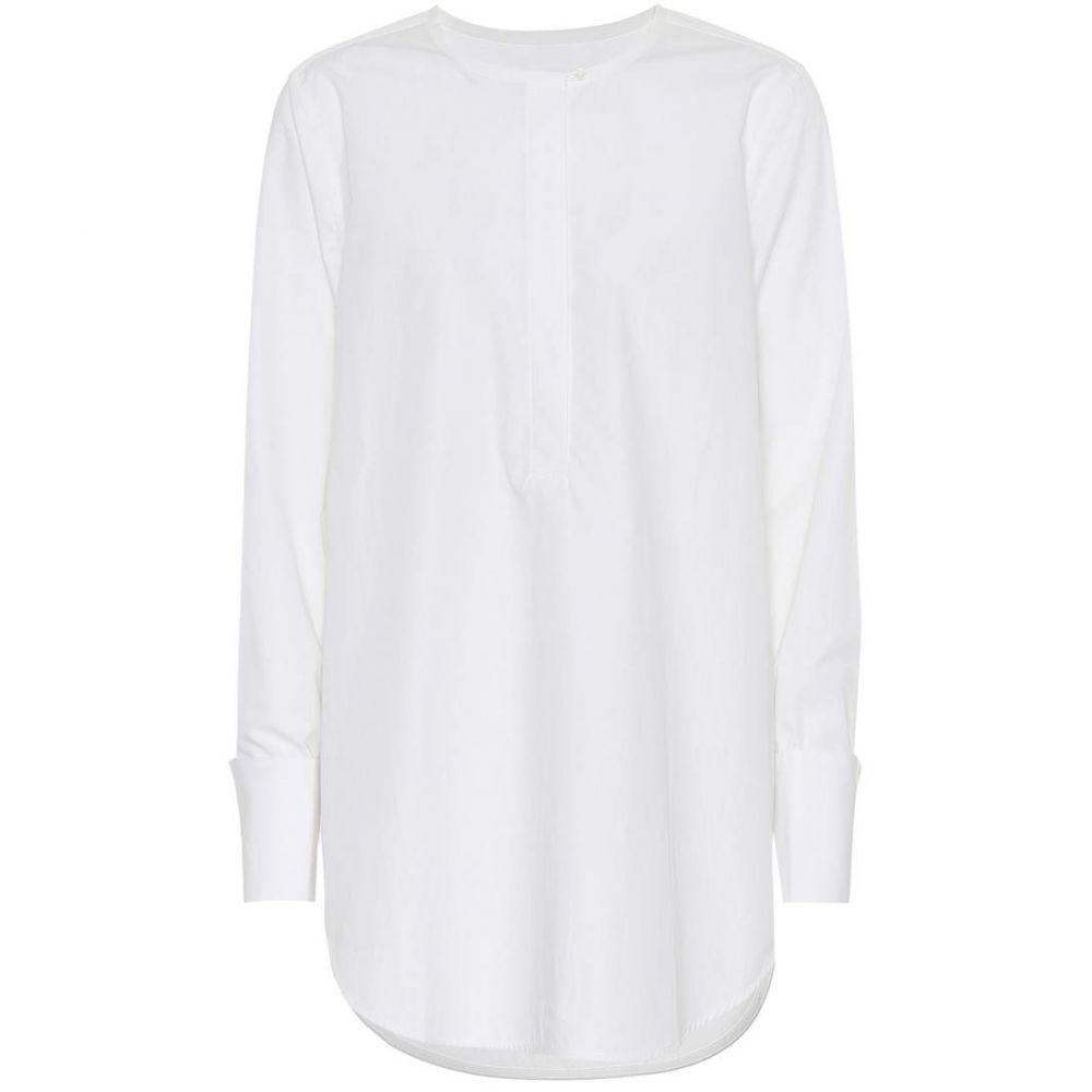 エキプモン Equipment レディース ブラウス・シャツ トップス【Cotton shirt】Bright White
