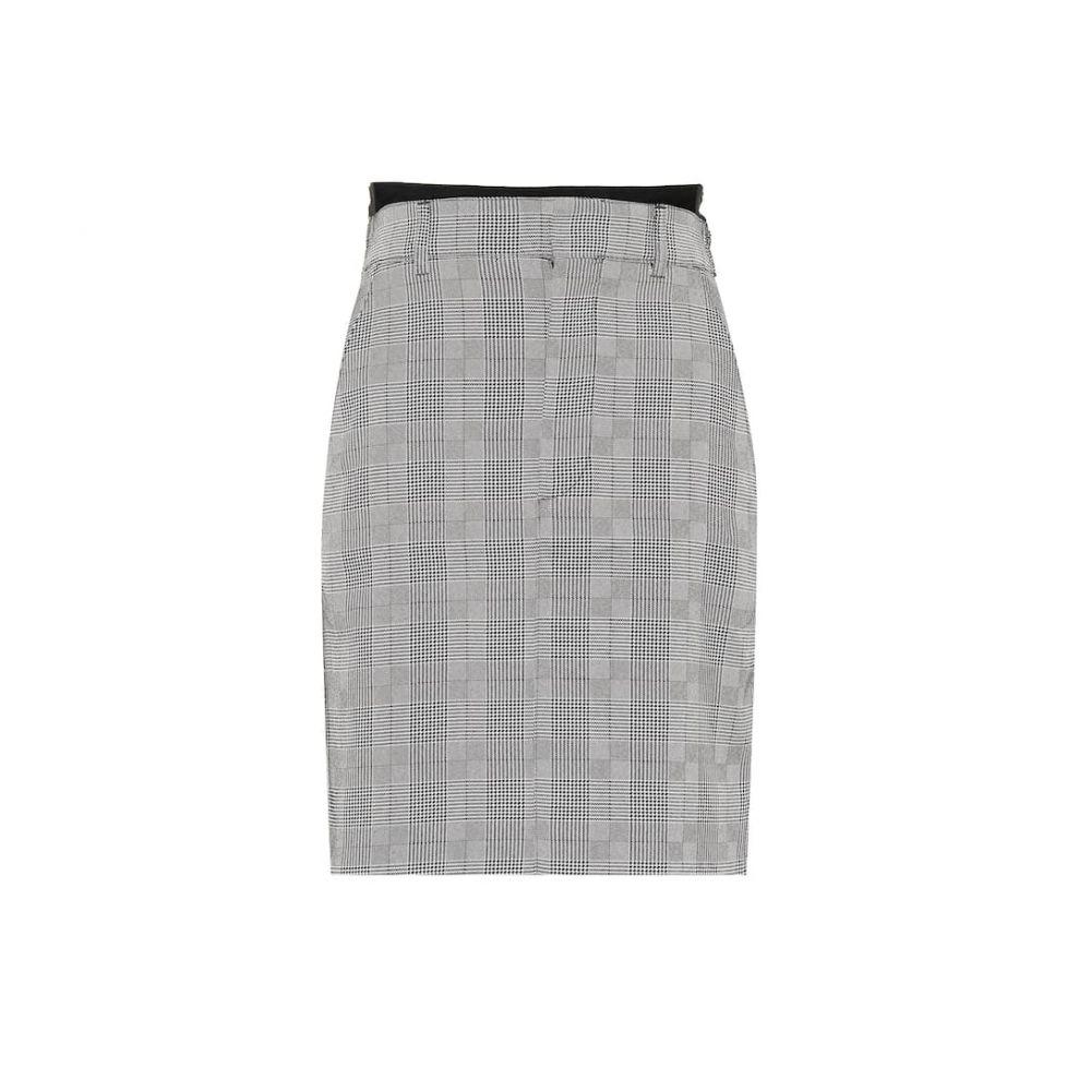 ヴェトモン Vetements レディース スカート 【Wool-blend skirt】Grey/Pinstripe