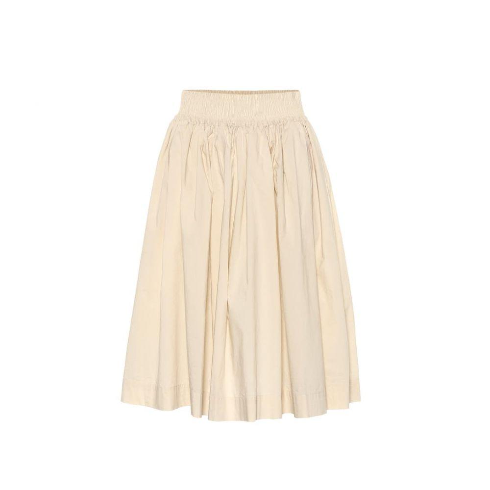 ウールリッチ Woolrich レディース スカート 【W'S pleated cotton poplin skirt】oatmeal