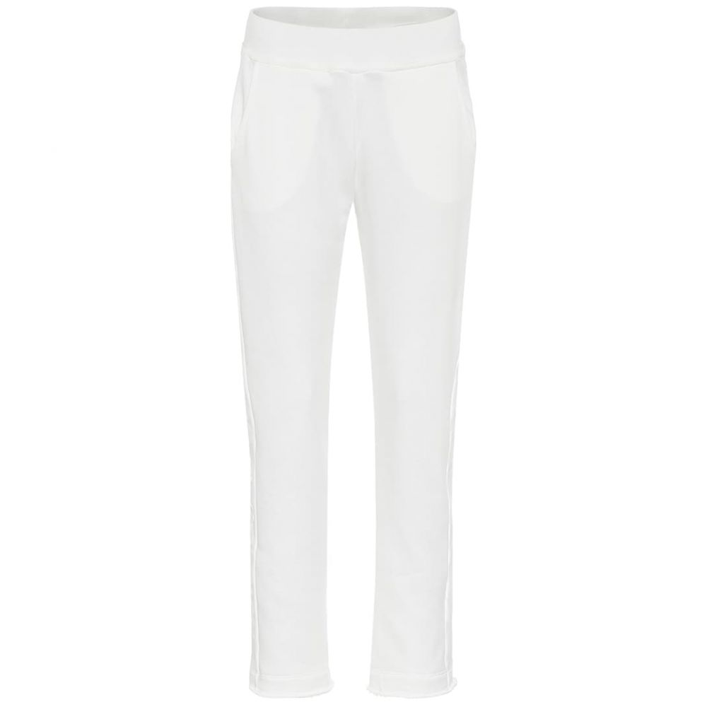 ウールリッチ Woolrich レディース スウェット・ジャージ ボトムス・パンツ【W'S cotton-fleece trackpants】White