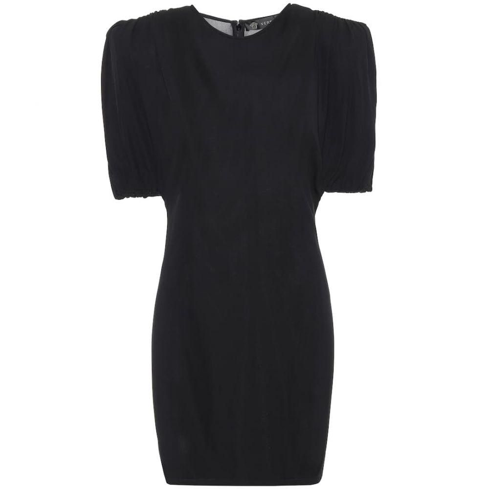 ヴェルサーチ Versace レディース ワンピース ワンピース・ドレス【Jersey minidress】Nero