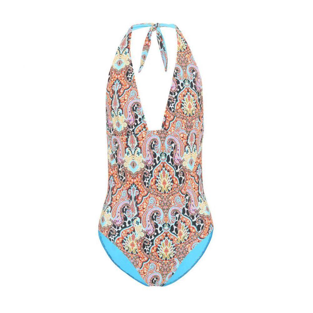 エトロ Etro レディース ワンピース 水着・ビーチウェア【Printed one-piece swimsuit】Multicolor