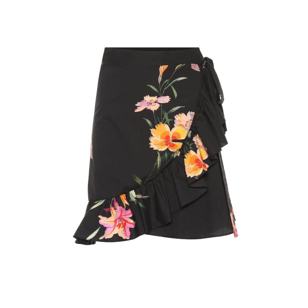 エトロ Etro レディース ミニスカート スカート【Ruffled cotton miniskirt】