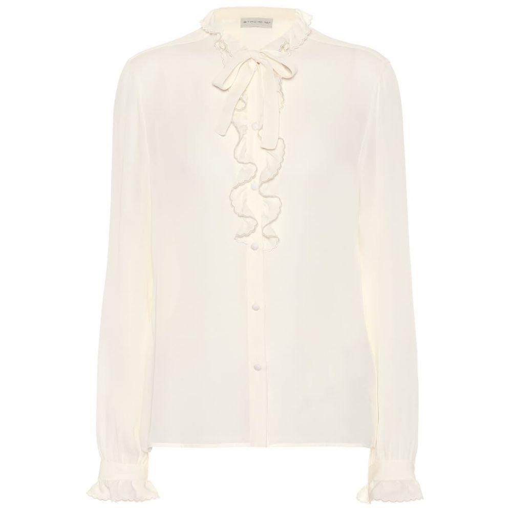 エトロ Etro レディース ブラウス・シャツ トップス【Silk blouse】